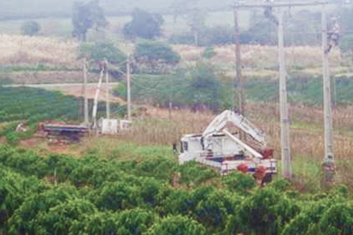 CEMIG Energia: Cemig realiza obras para atender Guaranésia