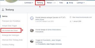 Menghilangkan Tombol Kirim Pesan dan tombol tambahkan Sebagai Teman Di Facebook