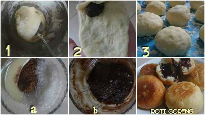 Resep Roti Goreng No telur No Ulen No Lama Tapi Renyah Diluar Lembut Di dalam Leleh Dimulut