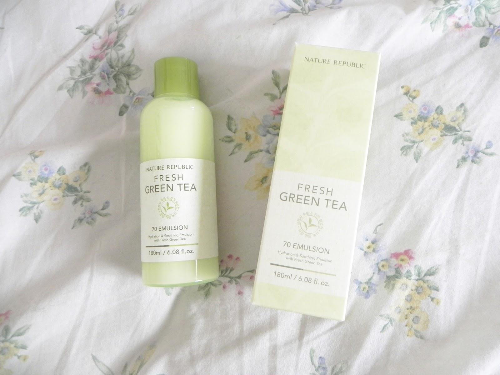 Nature Republic Green Tea Emulsion Review
