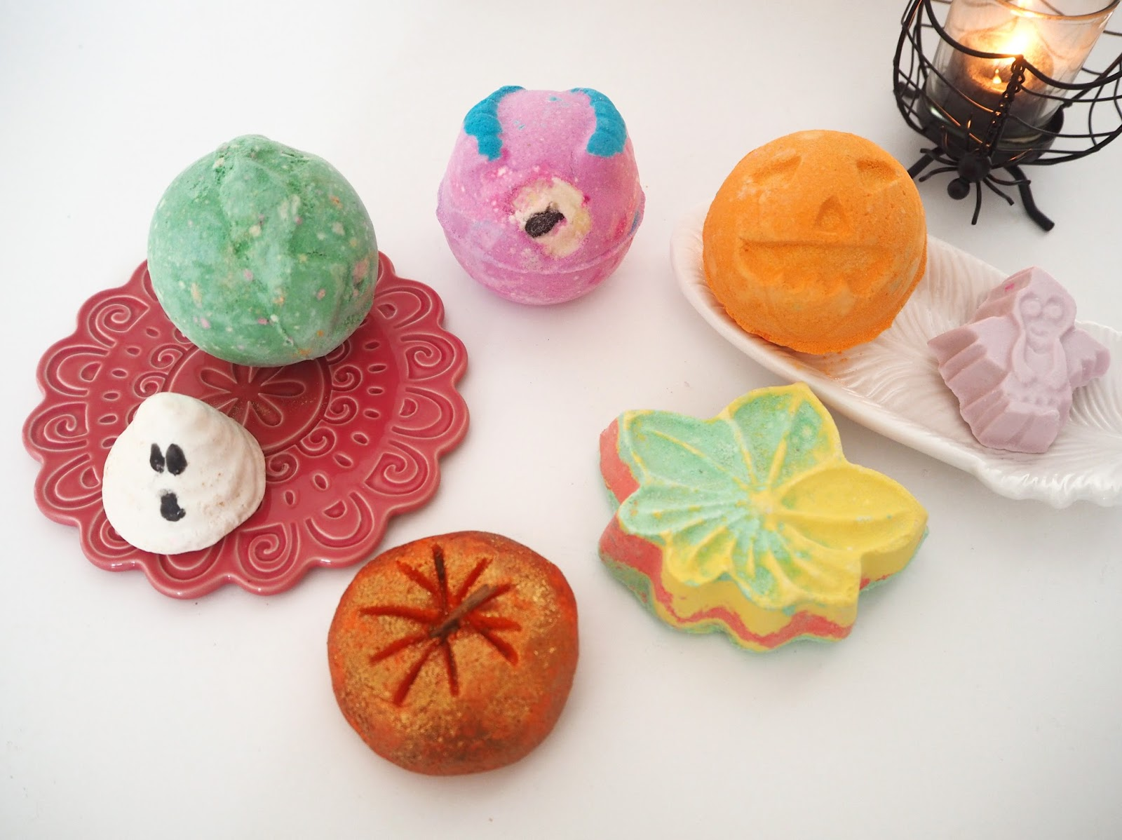 Lush Halloween Collection 2016, Katie Kirk Loves, Beauty Blogger, Bath Products, Lush UK
