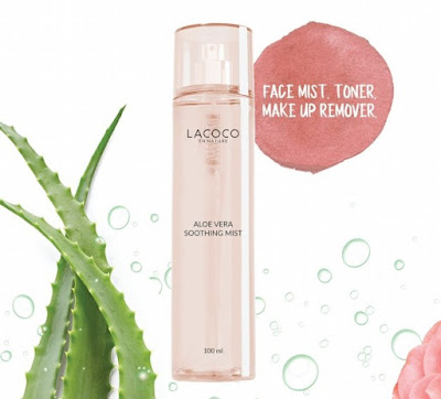 Lacoco Aloe Vera Soothing Face Mist