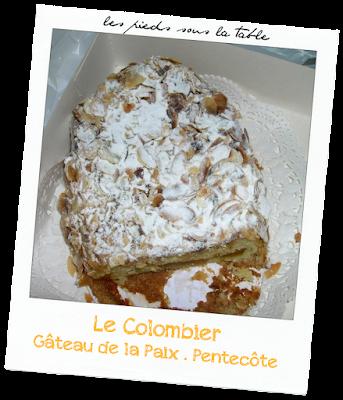 Le colombier  Gâteau de Pentecôte ou  gâteau de la paix