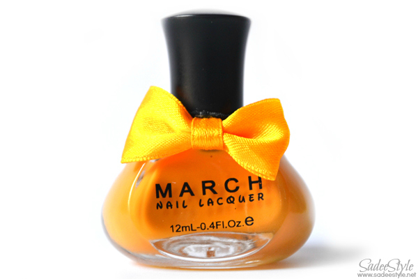 March Sweet Candy Colors Nail Art Polish Lacquer