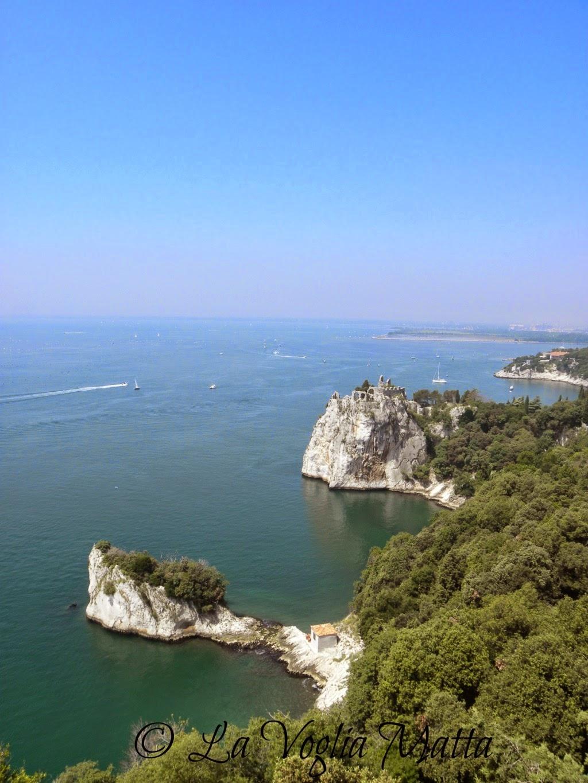 Castello di Duino Trieste panorama