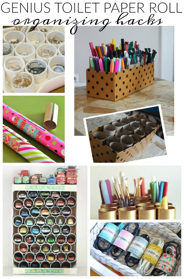 Can't miss toilet paper roll organizing hacks!