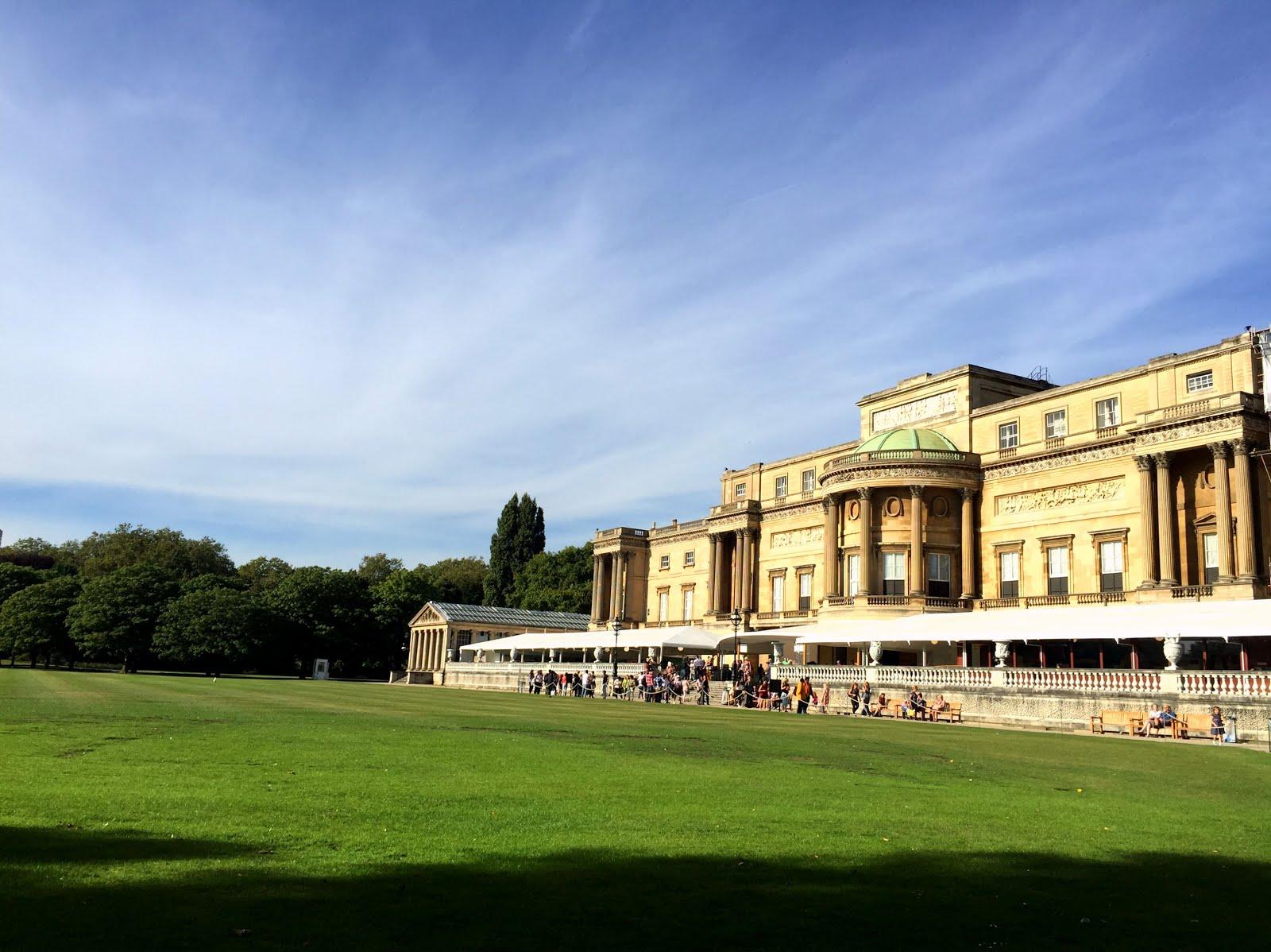 Coffee Break: Buckingham Palace Garden Cafe, London | The ...