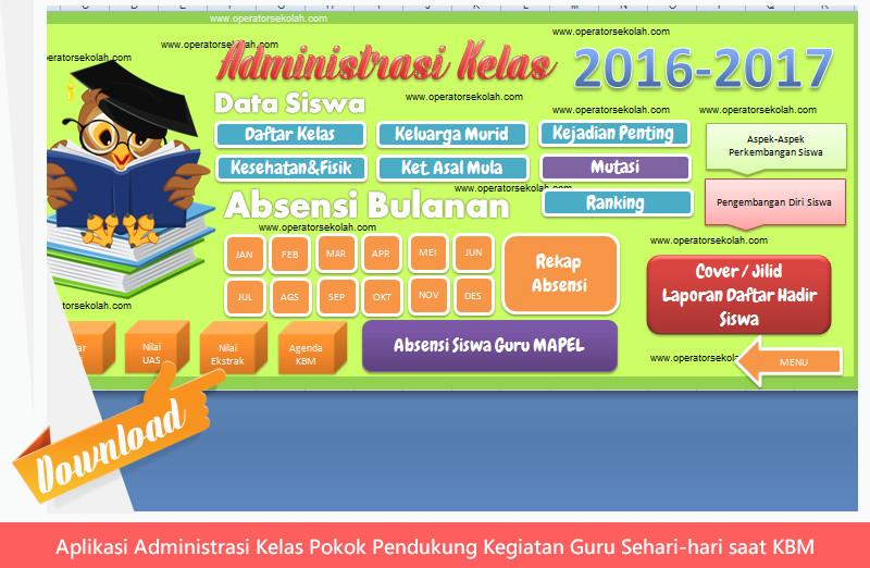 Aplikasi Administrasi Kelas Pokok Pendukung Kegiatan Guru Sehari-hari saat KBM