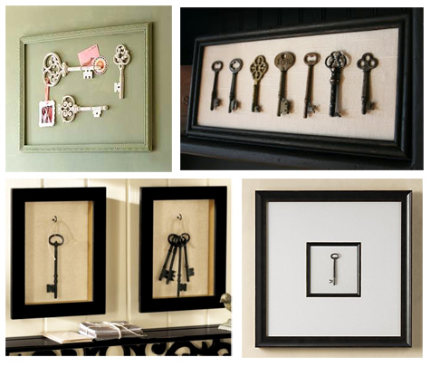 Beautiful Habitat: Framed Objects as Wall Art {Guest Post}
