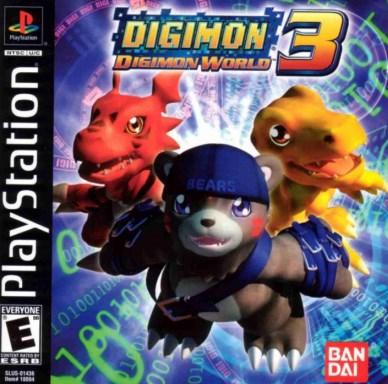 Digimon World 3 Iso