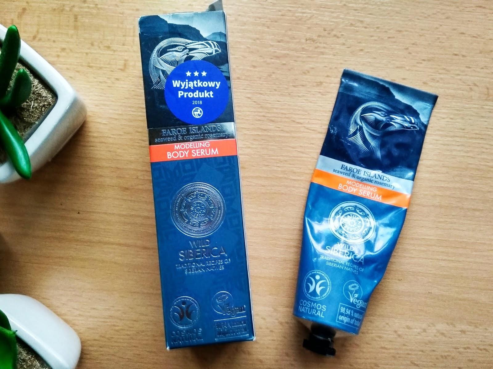 Recenzja - Modelujące serum do ciała Faroe Islands Natura Siberica