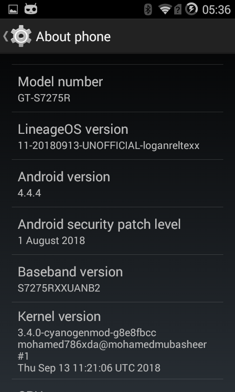 How To Install Lineage OS 11 0 [Android KK 4 4 4] On Samsung