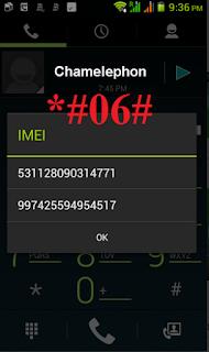 Cara Mengembalikan IMEI Dengan Mencari Nomor IMEI