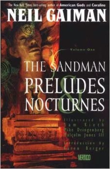 The Sandman Volume 1 Preludes and Nocturnes Cover Neil Gaiman