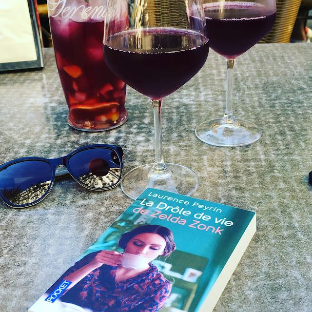 Chronique littéraire La drôle de vie de Zelda Zonk par Mally's Books