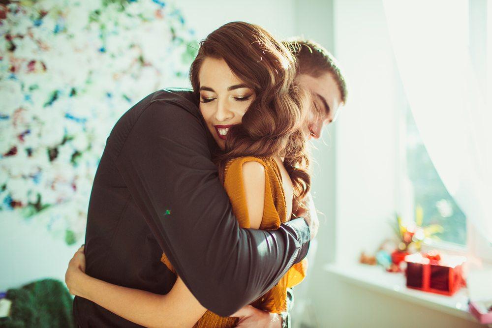 The strong hug