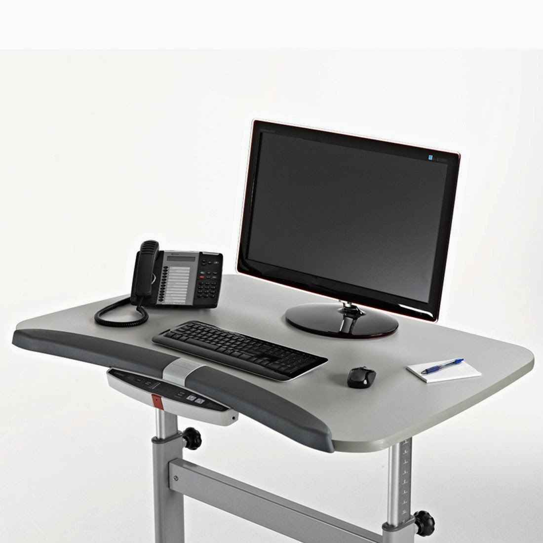 treadmill gray a folding desk lifespan call bluetooth with