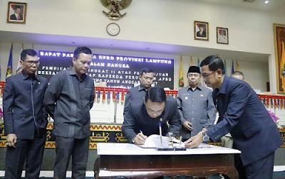 Pemprov Lampung Proyeksikan Peningkatan PAD Sebesar 16,3%