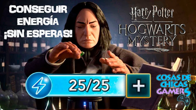 harry potter howarts mystery energia