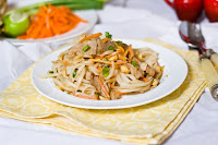 Hoisin Pork with Garlic Noodles Recipe | Healthy Pork Recipe