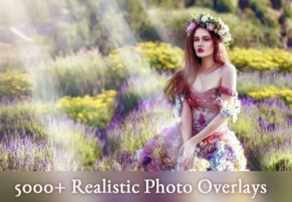 5000 Realistic Photo Overlays - Only $49