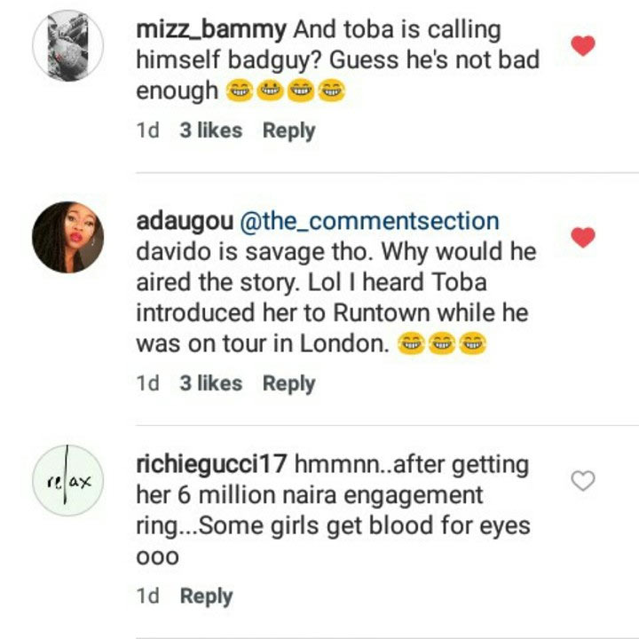 Stop sleeping with people's wives, Davido calls out Runtown