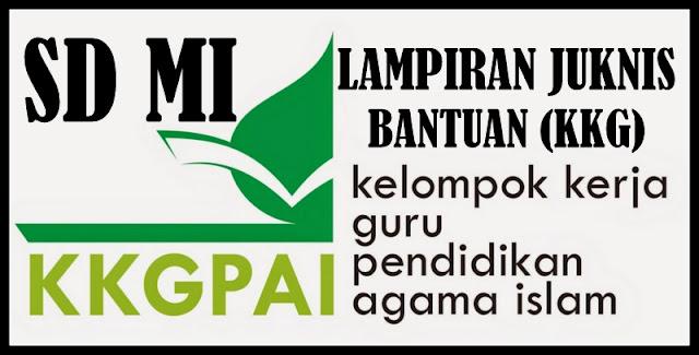 Download Lampiran JUKNIS Bantuan KKG PAI SD MI Terbaru