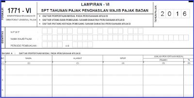 Download Buku Form Pajak SPT Bagian 2 Tahun 2016