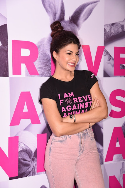 JACQUELINE FERNANDEZ LAUNCHES THE BODY SHOP'S BIGGEST CAMPAIGN AGAINST ANIMAL TESTING