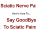 IF YOU SUFFER FROM BACK PAIN OR SCIATICA, TRY THIS NATURAL REMEDY AND YOU WON'T SUFFER ANY LONGER!