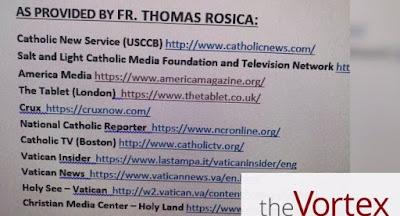 Rosica's list
