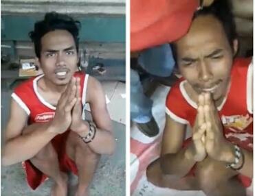 Masih Ingat Pria yang Didatangi TNI Sampai Nangis? Dia Bikin Status Lagi, Tunjukkan Tulisan Ini