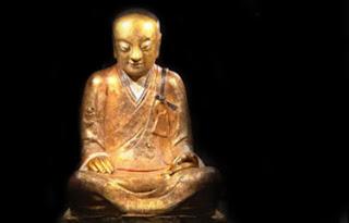 estatua de bronce de buda