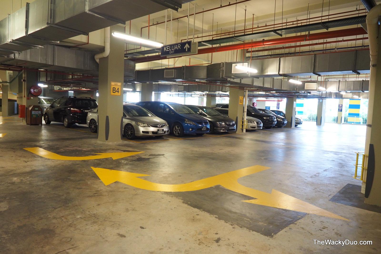 Hilton Hotel Car Park
