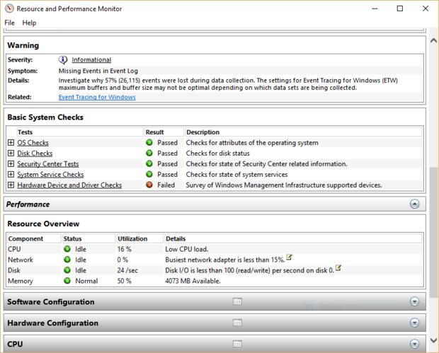 jalankan performance monitor untuk mempercepat kinerja windows 10
