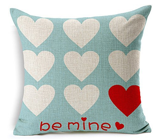 Aqua Be Mine Pillow