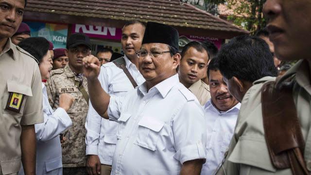 Kunjungi Markas Habib Rizieq, Prabowo Diminta Selamatkan Bangsa