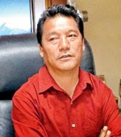 Bimal Gurung laid foundation stone for Gorkha Bhawan at Saket in Delhi