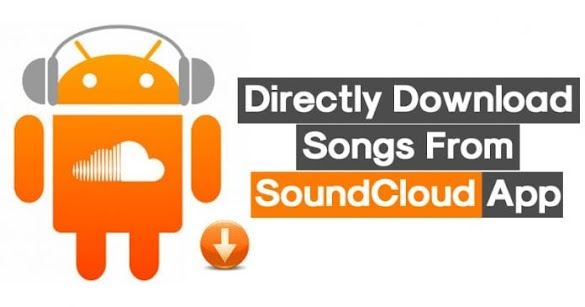 Cara Langsung Mengunduh Lagu Dari Aplikasi SoundCloud