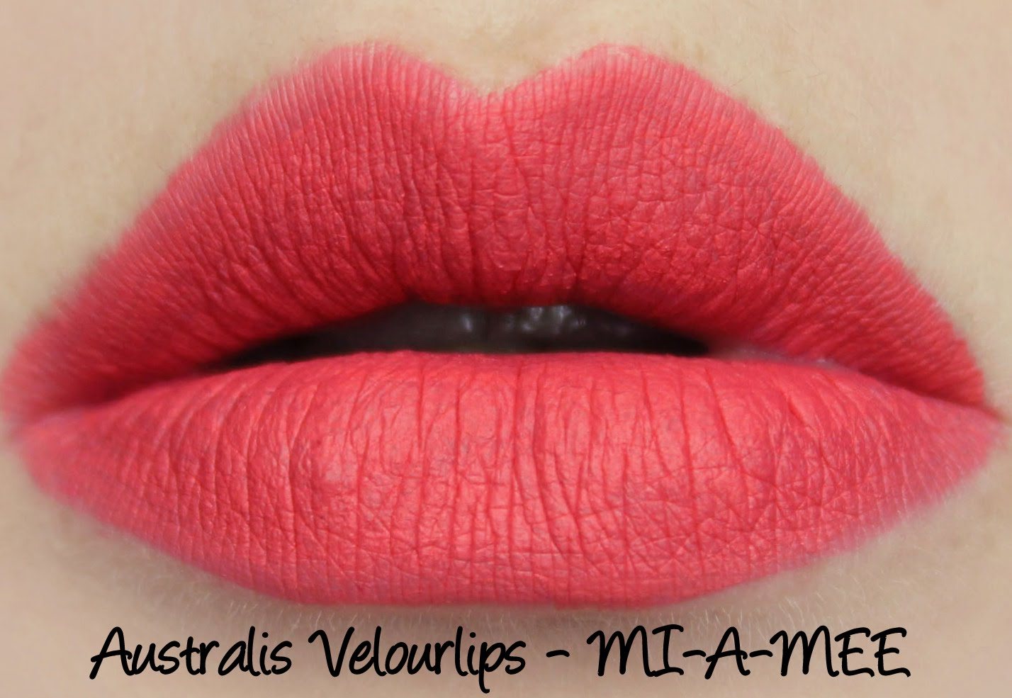 Australis Velourlips Matte Lip Cream - MI-A-MEE Swatches & Review