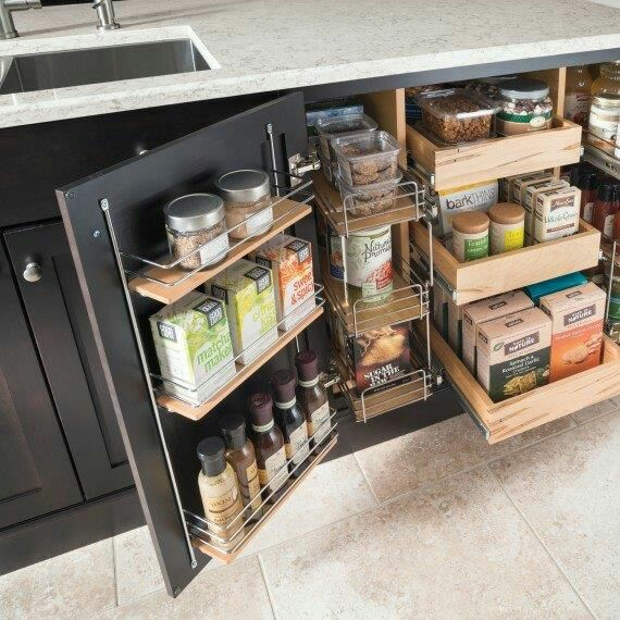 Smart Storage Ideas For Small Kitchens: 50 Smart Storage Ideas For Small Kitchen