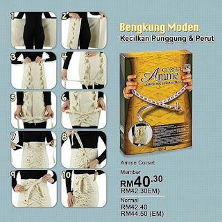 Amme corset Sendayu Tinggi