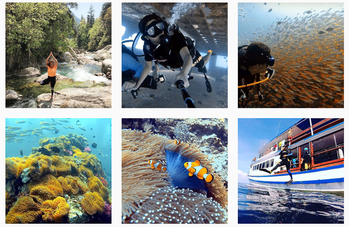 2. Your Scuba Diving experience: Tell us since when you've been scuba diving. When did you start taking scuba diving seriously?      The first time I ever tried Scuba Diving was when I went on a trip to Lakshadweep in 2014. When I discovered that there's a whole new world underwater that remains hidden from the rest of the world, and it is probably the most beautiful thing that I had ever seen, I was sure about taking this adventure seriously. In 2015 I flew to Indonesia to get myself certified as an Open Water Diver. I then traveled to Andaman Islands to upgrade myself as an Advanced Open Water Diver. I've dived in different parts of the world since then. As my success story to make a living out of my passions after quitting my job as a software engineer, I now head the business for Scuba Diving with an adventure Travel company. I can proudly say that Scuba Diving is now my work!