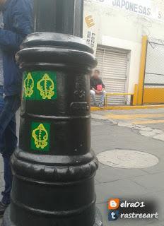 calacas en las calles