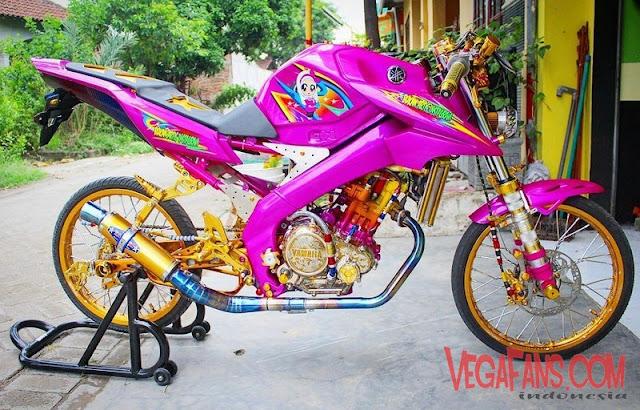 New Vixion Modif Ala Motor Kontes