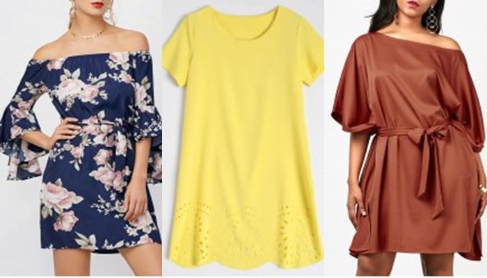 Rosegal sukienki /shift dress