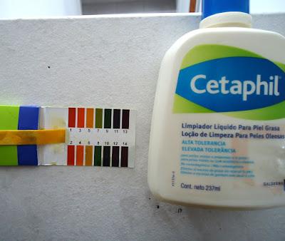 ph de limpiador cetaphil