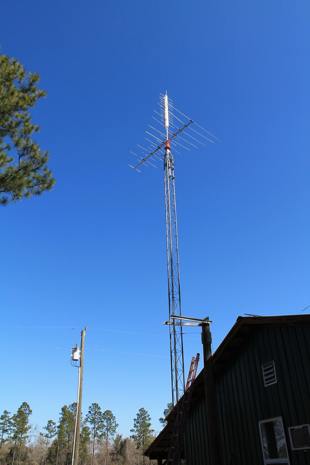 Tilt Up Antenna Tower