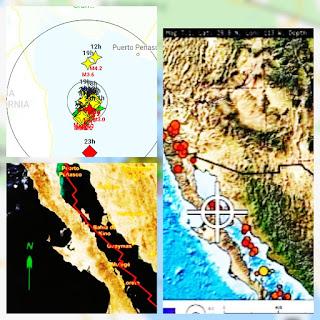 ALERTAS: se han registrado 30 sismos en el golfo de California , en las ultimas 24 horas.