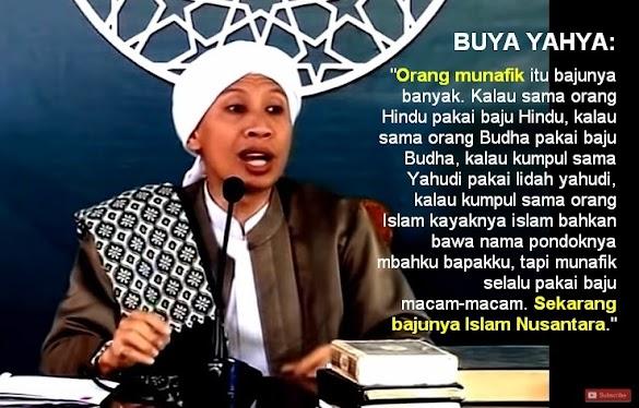 Buya Yahya: Orang Munafik itu Bajunya Banyak, Sekarang Pakai Baju Islam Nusantara